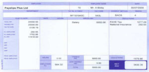 payslip RF01